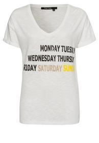 T-Shirt mit Schriftdruck