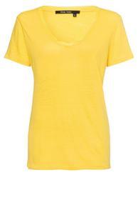T-Shirt aus Leinenjersey
