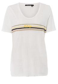 T-Shirt mit Ringelmotiv