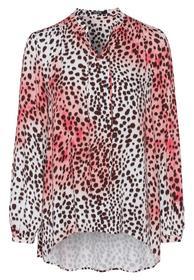 Bluse im Leopardenlook