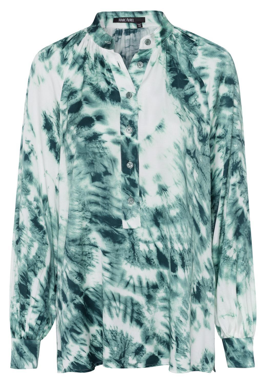 Bluse im Batik-Print