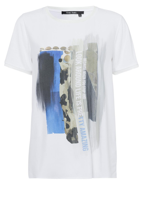 Blusenshirt mit Collagenprint