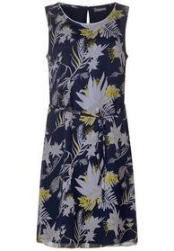 Chiffon Kleid mit Blumen