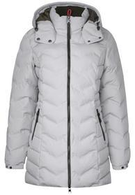 modern padded coat w. teflon