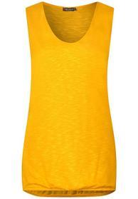 Einfarbiges Jersey Top