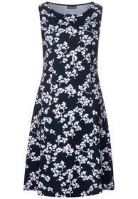 Kleid in A-Linie mit Print