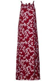 Neckholder Kleid mit Print