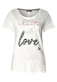 Wording-Print Shirt