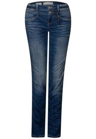 Denim-Jane,casualfit,mw,slimle, blue indigo authentic wash