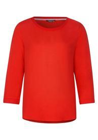 mat-mix shirt w. uni rib colla