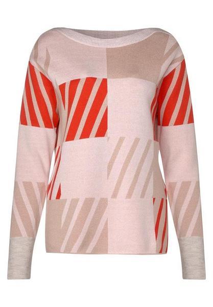 Grafischer Pullover