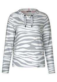 Hoodie Shirt mit Muster