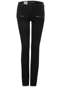 QR Jane black zip