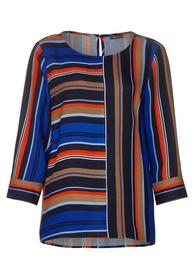 Stripemix blouse