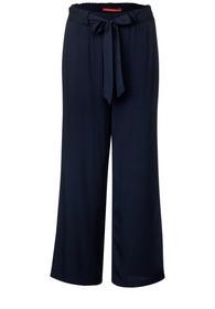 LTD QR Wide Leg Belt solid - 11238/deep blue