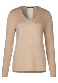 Pullover mit Kontraststreife