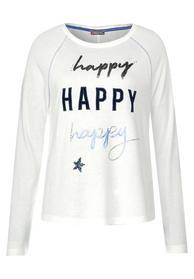 Shirt Mina mit Schriftzug