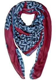 Light Double Face Square Scarf