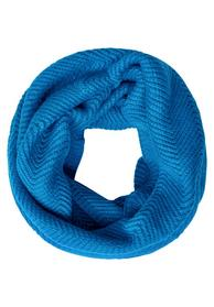 Zig Zag Structured Knit Loop - 11959/active blue