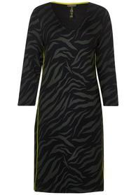 Zebra dress w sidetape L96