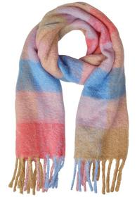 Soft Woven Check Scarf