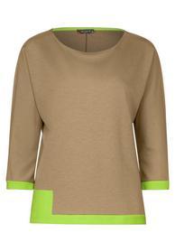 Shirt mit Colourblock