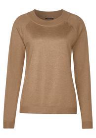 Unifarbener Pullover Gundi