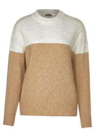 cosy, heavy knit - 22138/easy camel melange
