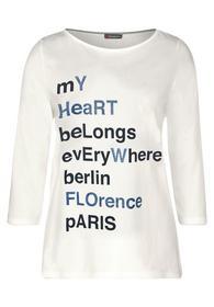Shirt mit Glitzer-Schrift