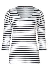 Shirt Hanya mit Streifen