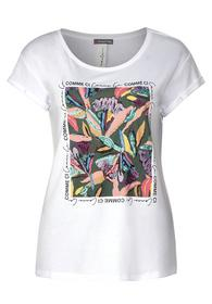 T-Shirt mit Blumenaufdruck