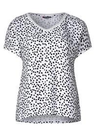 T-Shirt Ianda mit Punkten