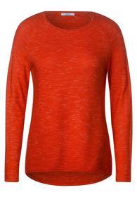 NOS Melange Pullover - 12541/funky orange heather