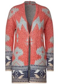 Ikat Cardigan - 32539/funky orange