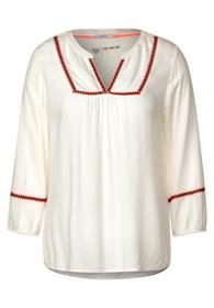 UNI Embroidery Blouse - 12259/light alabaster whit