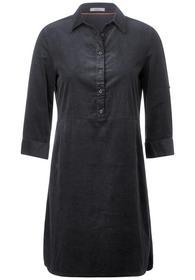 UNI Cord Dress - 12538/carbon grey