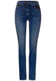 Style TOS Scarlett Patch Pocke - 10284/mid blue wa