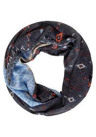 Ethno Print Loop - 32538/carbon grey