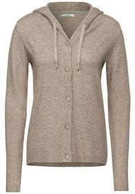 TOS Buttoned Hoody Cardigan