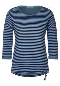 Softes Shirt mit Streifen