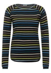 Raglan Multicolor Stripe