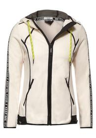MatMix Sweatjacket - 12259/light alabaster white
