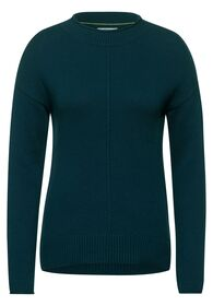 TOS Pullover roundneck - 12523/atlantic green