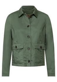 Short Military Jacket - 12646/soft khaki