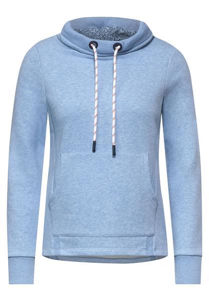 Sweat-Pullover in Melange