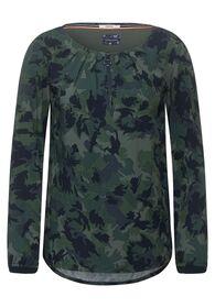 Bluse mit Camouflage