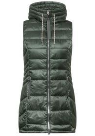 long padded vest