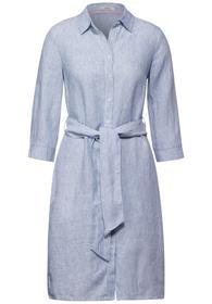 Leinen Kleid mit Bindegürtel