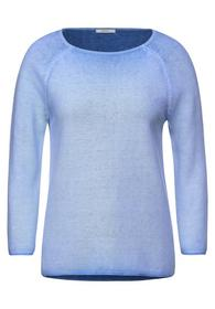 Color wasched Pullover