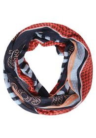 TOS Stripe And Foil Print Loop